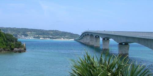 貸切バスの対象エリアは沖縄本島全域対象です!